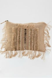 Muche et Muchette Beaded Brown Clutch - Product Mini Image