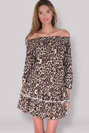 Muche et Muchette Ellyn Dress - Leopard - Front cropped
