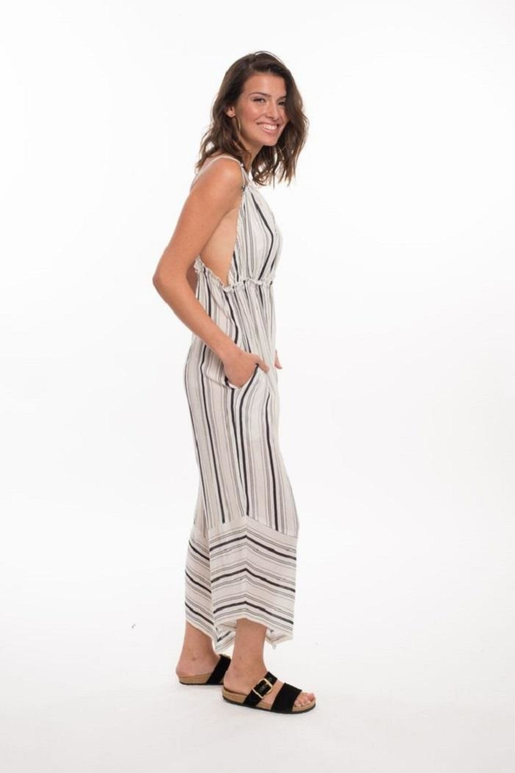 Muche et Muchette Faustine Wide-Leg Jumpsuit - Side Cropped Image