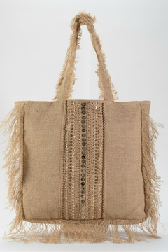 Muche et Muchette Frayed Tote - Product List Image
