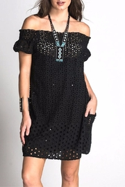 Muche et Muchette Juan Eyelet Dress - Product Mini Image