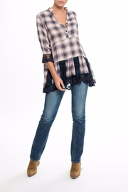 Muche et Muchette Lena Plaid Top - Product Mini Image