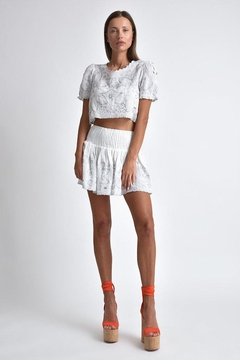 Muche et Muchette Mika Cropped Top - Product List Image