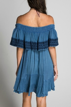 Muche et Muchette Off Shoulder Embroidered Dress - Alternate List Image
