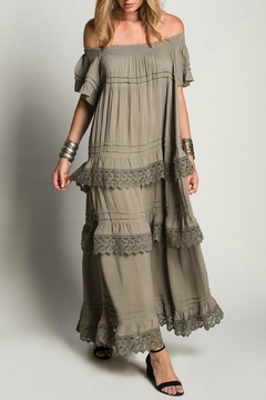 Muche et Muchette Layered Maxi Dress - Product List Image