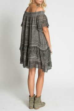 Muche et Muchette Grey Ruffle Dress - Alternate List Image