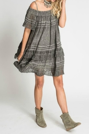 Muche et Muchette Esmeralda Linen Dress - Front full body