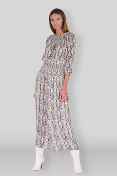 Muche et Muchette Snake Maxi Dress - Alternate List Image