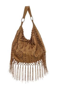 Muche et Muchette Mocha Suede Hobo Bag - Alternate List Image