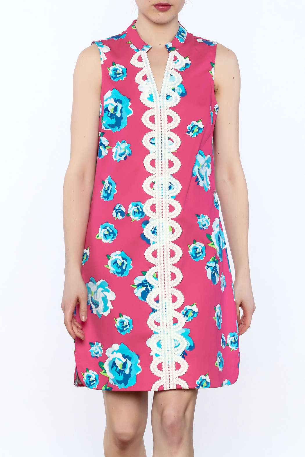 Mud Pie Embroidered Floral Dress from Florida by The Pink Chalet ...