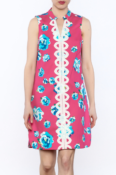 Shoptiques Product: Embroidered Floral Dress