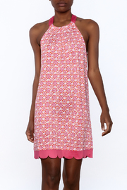 Mud Pie Pink Scalloped Dress - Product Mini Image