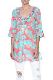 Mud Pie Sea Shell Cover Up - Product Mini Image
