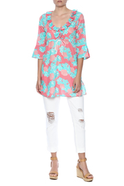 Mud Pie Sea Shell Cover Up - Front full body