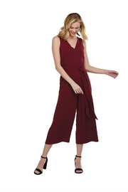 Mud Pie Adelynn Jumpsuit Pinot - Front cropped