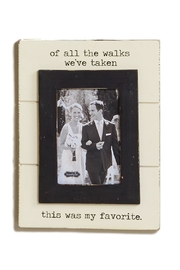 Mud Pie All The Walks Frame - Product Mini Image