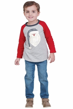 Mud Pie Alpine Santa Shirt - Alternate List Image