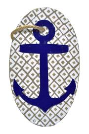 Mud Pie Anchor Oval Platter - Product Mini Image