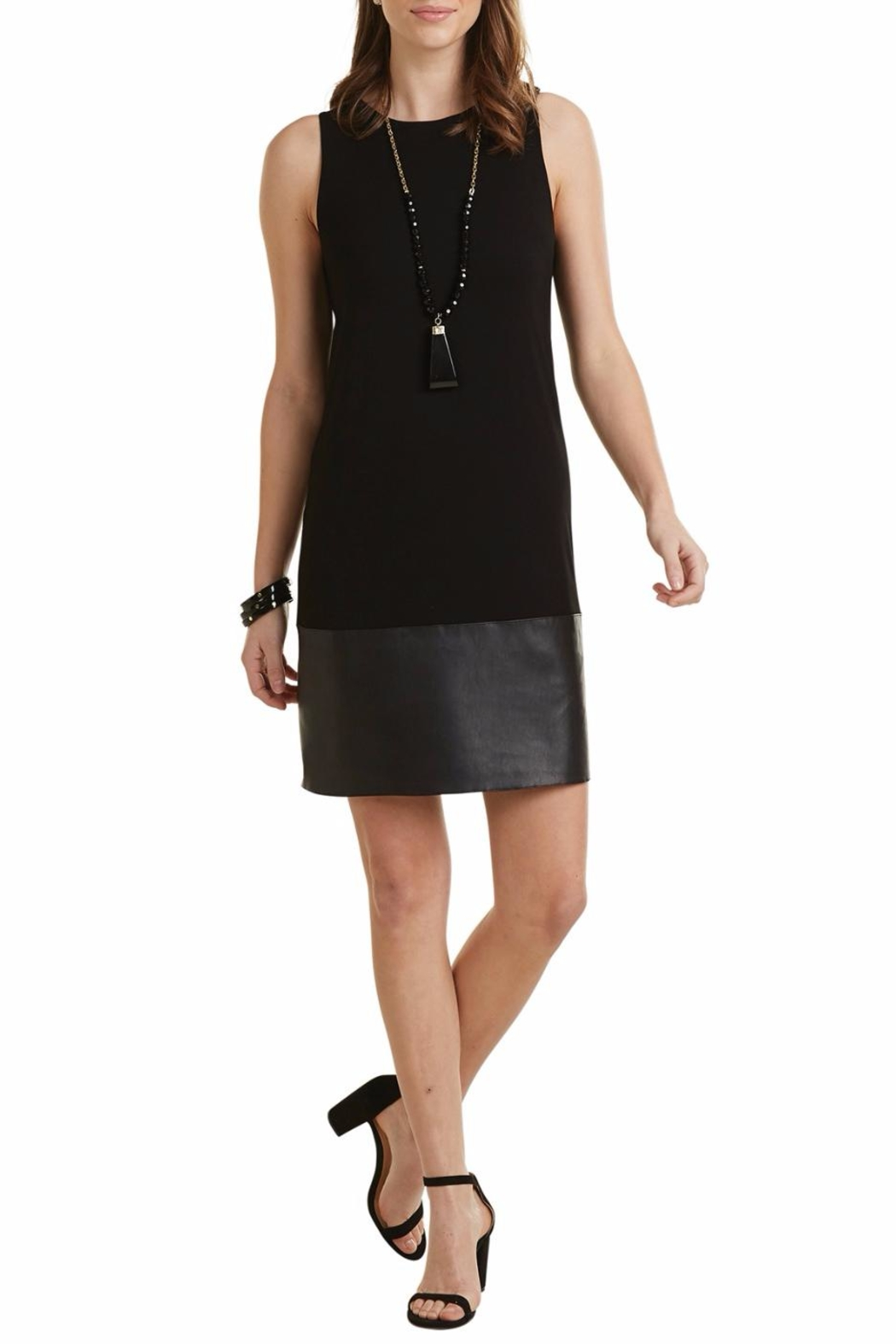 Mud Pie Austin Shift Dress - Front Cropped Image