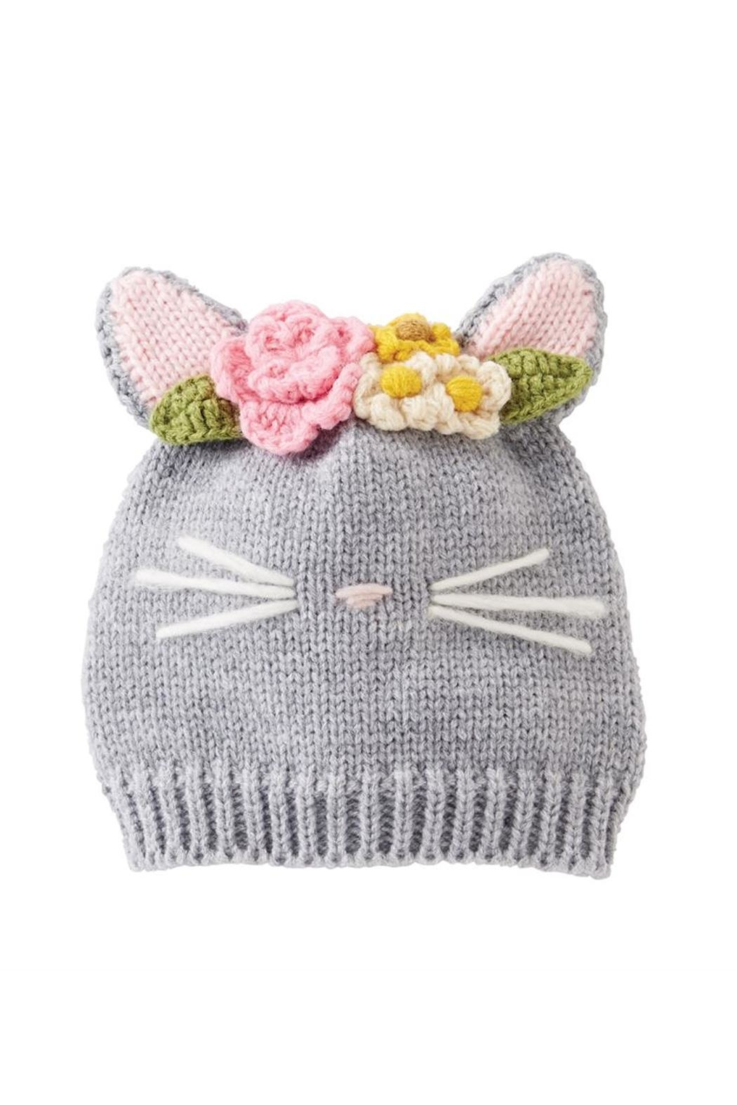 Mud Pie Baby Cat Hat - Front Cropped Image