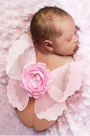 Mud Pie Baby Flower Wings - Product Mini Image
