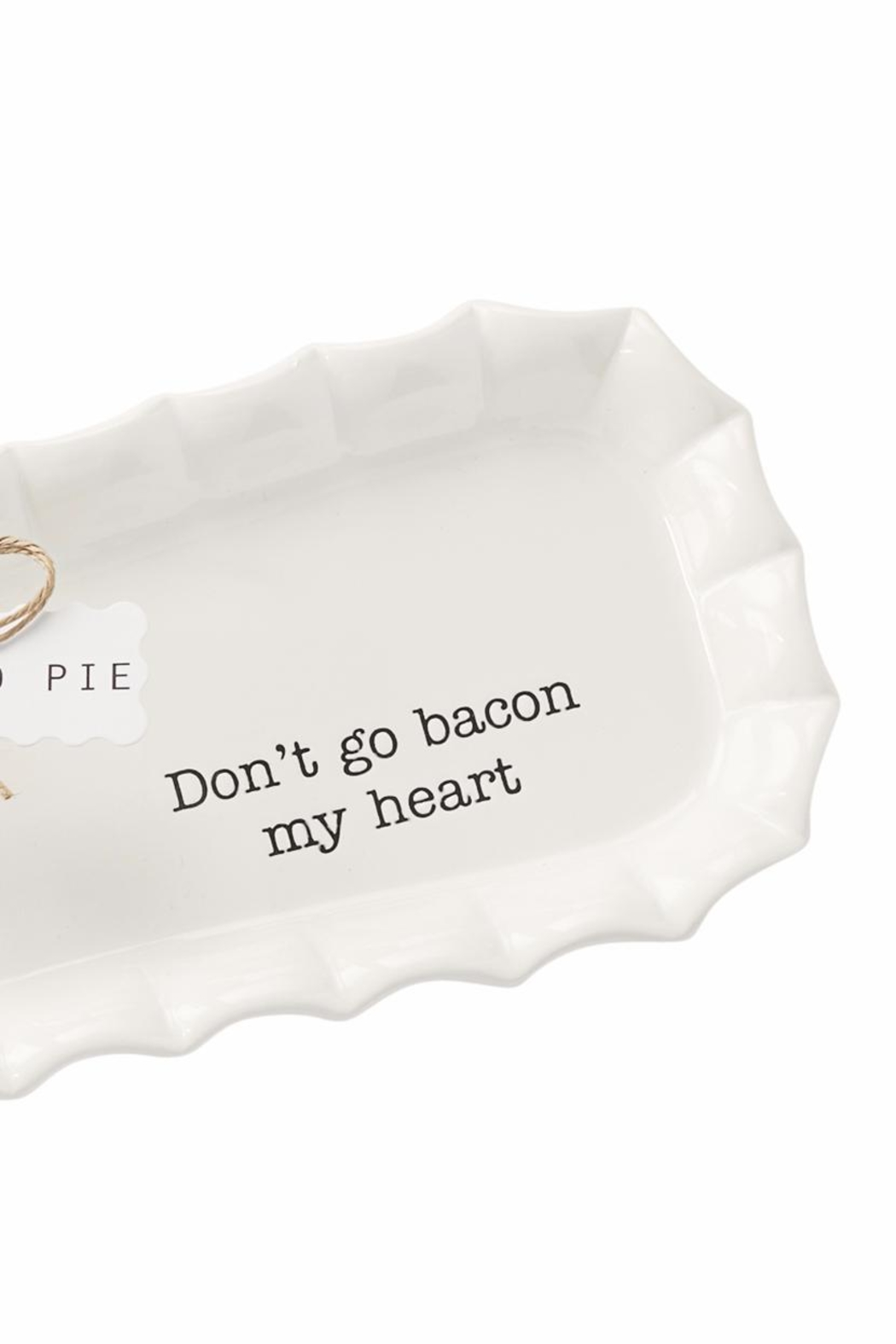 Mud Pie Bacon Tray Set - Front Full Image