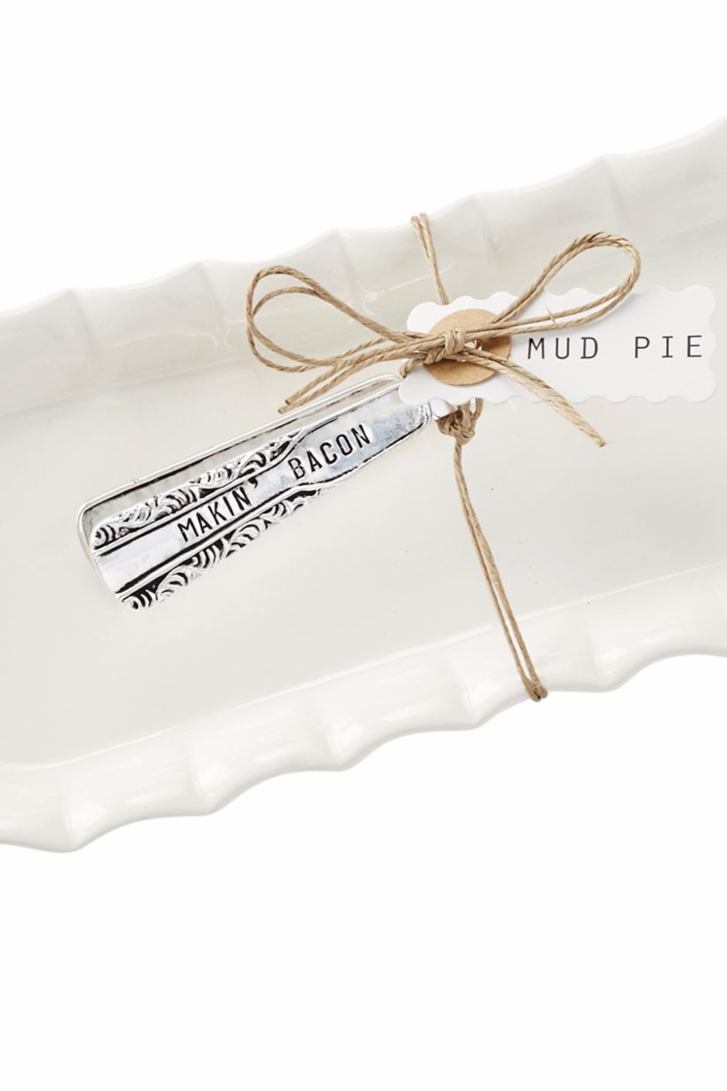 Mud Pie Bacon Tray Set - Side Cropped Image