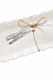 Mud Pie Bacon Tray Set - Side cropped