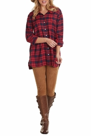 Mud Pie Baelyn Flannel Shirt - Product Mini Image