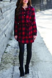 Mud Pie Bale Flannel Dress - Product Mini Image