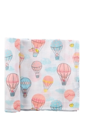 Mud Pie Balloon Blanket - Front cropped
