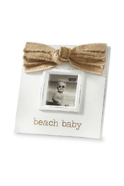 Mud Pie Beach Baby Frame - Front cropped