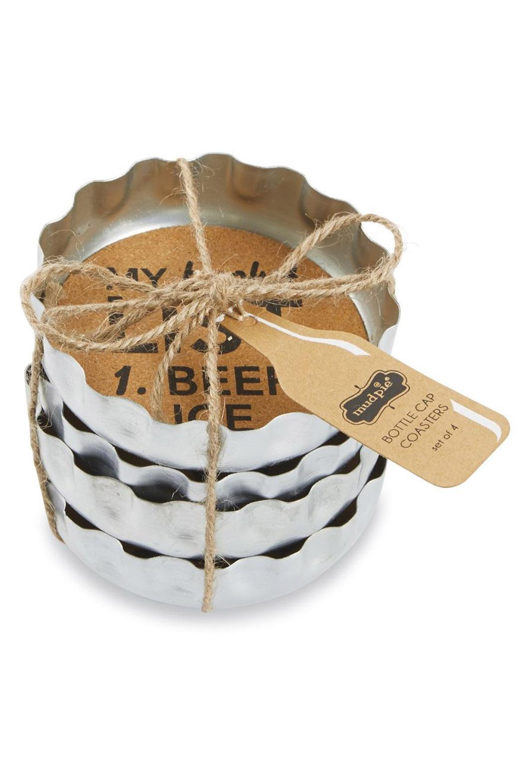 Mud Pie Beer Bottle Coasters - Main Image