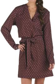 Mud Pie Belted Shirt Dress - Product Mini Image