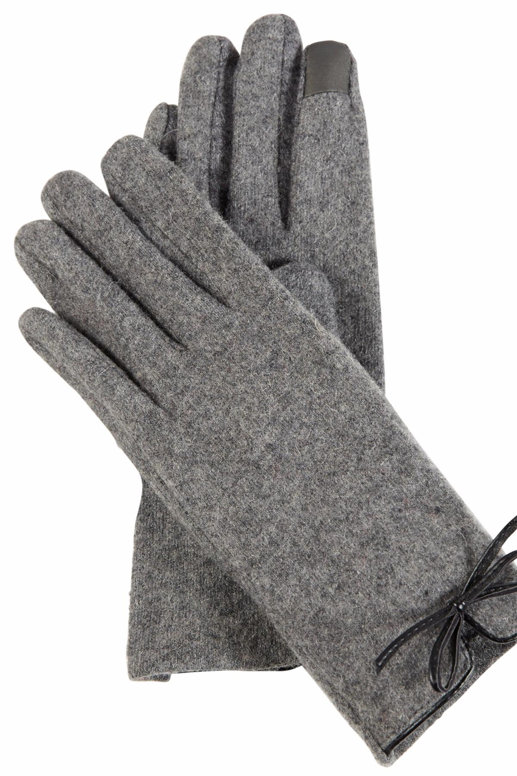Mud Pie Betty Bow Gloves - Front Cropped Image