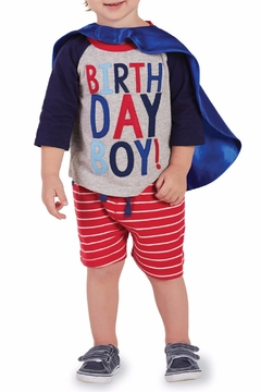 Shoptiques Product: Birthday Superhero Set