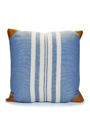 Mud Pie Bistro Stripe Pillow - Product Mini Image
