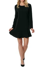 Mud Pie Black Flounce Dress - Product Mini Image
