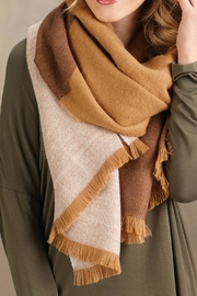 Mud Pie Blanket Scarf - Front cropped