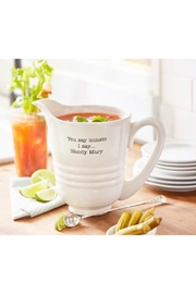 Mud Pie Bloody Mary Pitcher - Front cropped