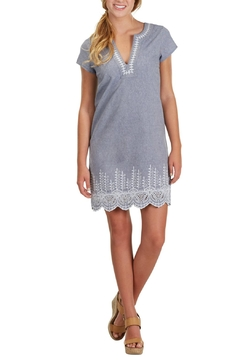 Mud Pie Blue Chambray Dress - Product List Image