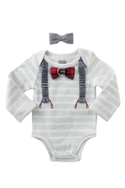 Mud Pie Bow Tie Crawler - Front cropped