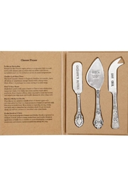 Mud Pie Boxed Cheese Knife Set - Product Mini Image