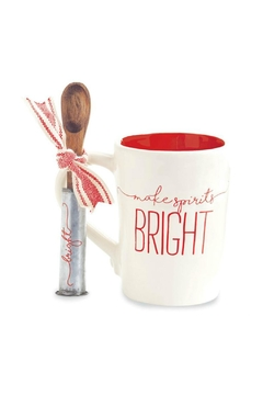 Mud Pie Bright Mug Set - Alternate List Image