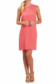 Mud Pie Britain Scalloped Dress - Side cropped