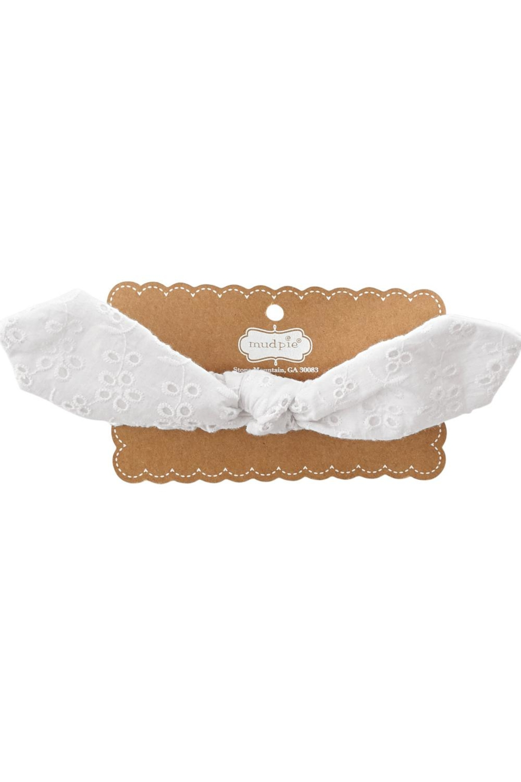 Mud Pie Bunny Ear Headband - Front Cropped Image