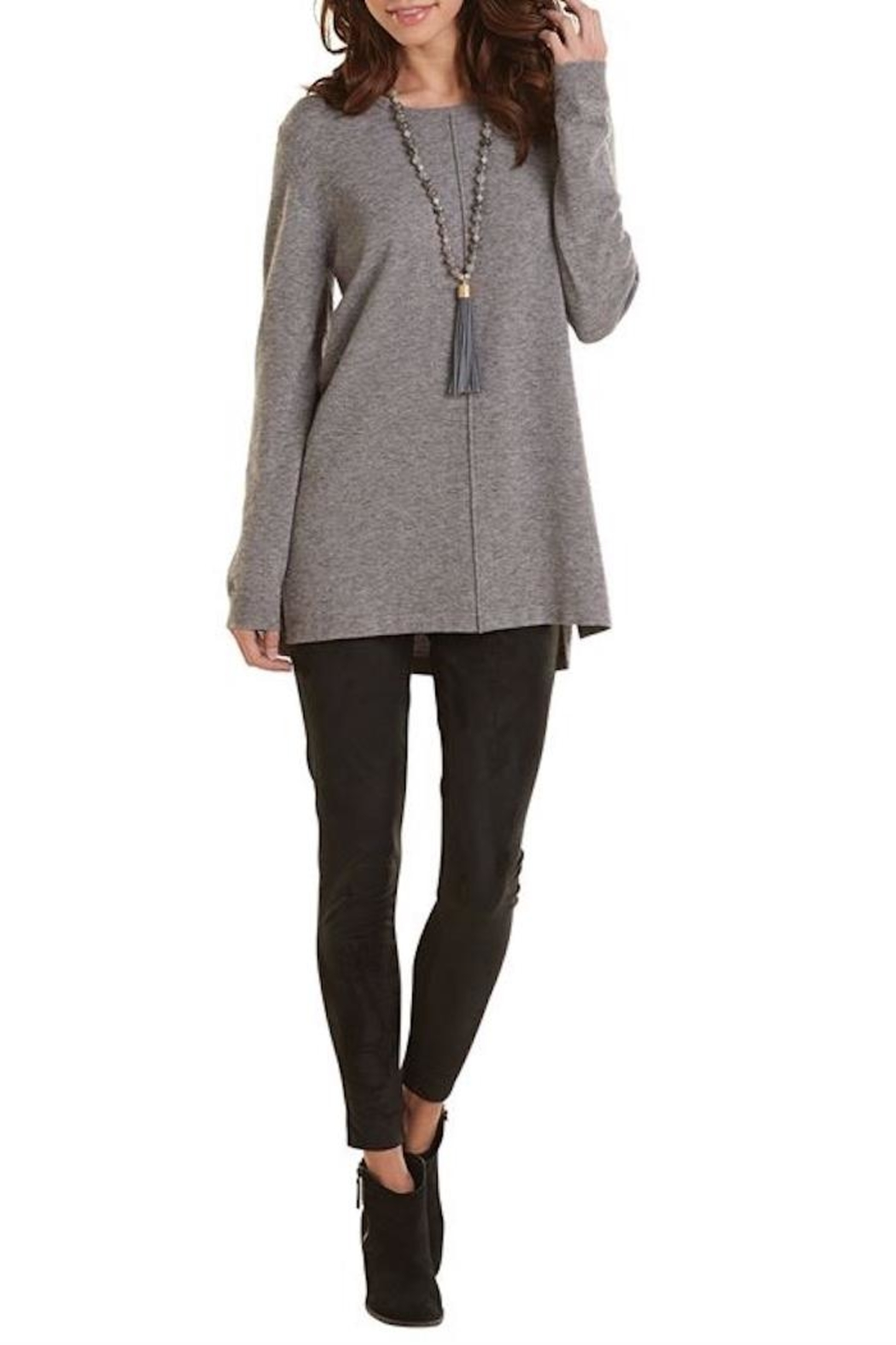 Mud Pie Camilla Sweater Tunic - Front Cropped Image