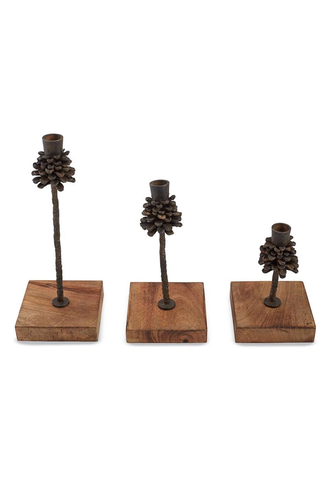 Mud Pie Candle Holder Set - Front Cropped Image