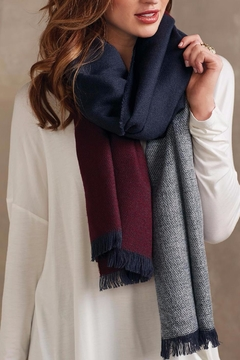 Mud Pie Carmen Blanket Scarf - Product List Image