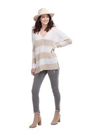 Mud Pie Casper Stripe Sweater - Product Mini Image